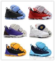 ingrosso sport di lifestyle-2018 New Lebron XVI 16 Lifestyle scarpe sportive da uomo 16s designer uomo in esecuzione scarpe da corsa scarpe da ginnastica