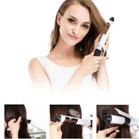 Wholesale temperature control lcd for sale - Group buy LCD digital display ceramic tourmaline household hair curlers temperature control electric hair bar salon with curling iron