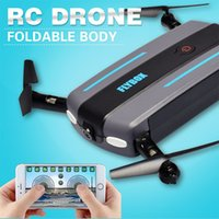 Wholesale quadcopter kit unassembled resale online - FY910 Mini RC Drone Quadcopter Foldable HD Camera Aerial Photography WIFI Transmission Fixed Height Aircraft Children Kids Toy