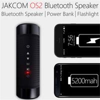 крепление велосипеда оптовых-Jakcom OS2 Открытый Bluetooth-динамик Водонепроницаемый 5200 мАч Power Bank Велосипед Портативный сабвуфер НЧ-динамик светодиодный свет + велосипед крепление