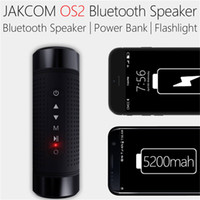 Wholesale bike lit for sale - Group buy Jakcom OS2 Outdoor Bluetooth Speaker Waterproof mAh Power Bank Bicycle Portable Subwoofer Bass Speaker LED light Bike Mount