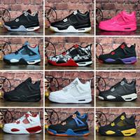 tênis de basquete mais vendidos venda por atacado-nike Air Jordan 4 2019 de alta qualidade melhor venda 13 12 4 1 5 2s 4s 1s 5s ele tem jogo de tênis crianças das mulheres mens de alta qualidade tênis de basquete