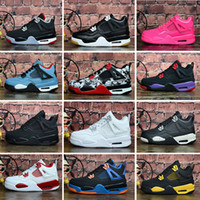 en çok satan basketbol ayakkabıları toptan satış-nike Air Jordan 4 2019 Yüksek Kalite En çok satan 13 12 4 1 5 2 s 4 s 1 s 5 s Oyunu sneakers var Çocuklar Bayan Erkek Yüksek kalite Basketbol Ayakkabı