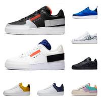 hava sporu modası toptan satış-2020 nike air force 1 af1 erkekler kadınlar koşu ayakkabı G-Ejderha 1 tipi gölge Para-gürültü üçlü siyah Zirvesi Beyaz Mistik Donanma erkek eğitmen moda spor sneakers