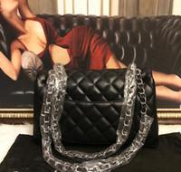 sacs à main en cuir véritable pour femmes achat en gros de-Argent Véritable Sacs À Bandoulière En Cuir pour les femmes 2018 Haute Qualité De Luxe Sacs À Main Messenger Sac Grand Fourre-Tout Dames Sacs À Main bolsas