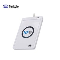 Wholesale rfid card reader systems for sale - Group buy NFC Writer Reader ACR122U A9 China RFID Card Reader Support Multiple System Android Windows USB RFID NFC Reader
