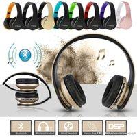 mp3 pl venda por atacado-Andoer LH-811 Digital 4 em 1 Multifuncional Sem Fio Bluetooth 4.1 + EDR Fone De Ouvido Estéreo Fone De Ouvido Fone De Ouvido Com Fio Fone de Ouvido com Microfone MP3 Pl