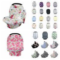 52 styles Baby Floral Feeding Nursing Cover Newborn Toddler Breastfeeding Privacy Scarf Cover Shawl Car Seat Stroller Canopy Tools