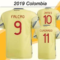 camiseta de fútbol sanchez al por mayor-2019 Colombia Selección Nacional FALCAO JAMES Camisetas de Fútbol CUADRADO BACCA SANCHEZ Inicio Hombre Camisetas de Fútbol Nuevo AGUILAR Camisetas de fútbol