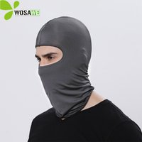 Wholesale face shield protection resale online - Summer Cycling Mask Sunscreen Face Shield Neck Cover Running Sports Balaclavas UV Protection Breathable Outdoor Ski Mask Caps