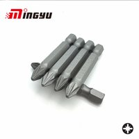 Wholesale tool drill bit sets resale online - 5Pcs quot mm Pozidriv PZ2 Screwdriver Bit Set Tools Repair Screwdrivers Kit Hex Shank Drill Bit For Power Household Hand Tools