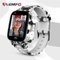 Wholesale sos smart watch for kids for sale – best LEMFO LEC2 Pro G Kids Smart Watch GPS Wifi Mah Battery Baby Smartwatch IP67 Waterproof SOS For Children Support Take Video