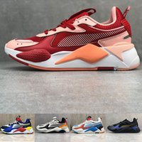 2020 pumars x rs x reinvention toys transformers men women running shoes FUCHSIA PURPLE mens trainers sports sneakers size 36 45