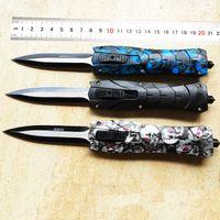 ingrosso coltello inferiore-Coltello da tasca tattico da campeggio in acciaio D2 da banco tattico da campeggio caccia coltelli coltelli leggeri 90 grammi prezzo più basso