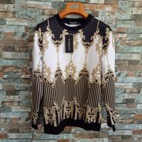 kleidung freies verschiffenmann großhandel-Balmain Sommer Männer Sweatshirts Causual Fashional Für Gold Weiß Schwarz Kleidung Kanye West 700 Match Kostenloser Versand