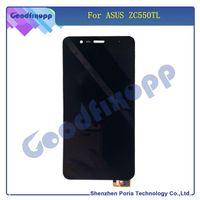 ingrosso telefoni cellulari asus-LCD per telefoni cellulari per Asus ZC550TL LCD Touch Screen Digitizer Assembly con telaio di ricambio per ASUS ZC550TL LCD