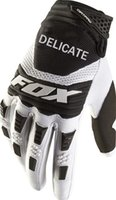guantes blancos de verano al por mayor-The New One! Delicada Fox Mountain Bicycle Riding Fashion Summer White Black Gloves