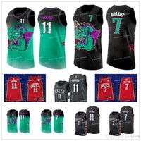 Wholesale throwback basketball shorts resale online - Men s Nets Kevin Durant Kyrie Irving jersey Brooklyn Caris LeVert Biggie the City throwback shorts Basketball Jerseys