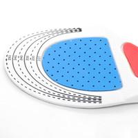 спортивные стельки оптовых-Silicone Shoe Insoles Free Size Men Women Orthotic Arch Support Sport Shoe Pad Soft Running Insert Cushion