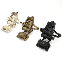Wholesale tactical helmet night vision for sale - Group buy Hot Tactical L2G05 CNC Aluminum Helmet Mount Bracket For PVS Night vision goggles hunting scope