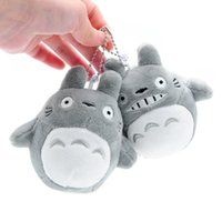 ingrosso giocattoli molli totoro-Il mio vicino Totoro giocattoli di peluche ripiene migliori giocattoli regali per bambini Morbido giocattolo per bambini regalo ciondolo farcito