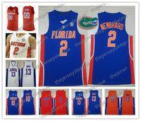 ingrosso pullover di basket arancione-Florida Gators 2019 Personalizzato Qualsiasi numero numero Blu Arancione Bianco Retro # 2 Andrew Nembhard 5 Omar Payne Horford NCAA Maglia da basket