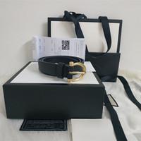 cinturón negro para niñas al por mayor-con caja Hombres cinturón de cuero de alta calidad cinturón personalizado cinturón de cuero personalizado Moda Cuero dorado y plateado negro niña mujer y hombre