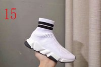 Wholesale sexy sports shoes for sale - Group buy pattern Summer Casual Socks shoes Sexy knitted elastic sock boots Designer woman Shoes Fashion male sports shoes Large size