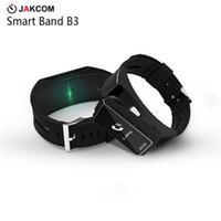 os relógios vibram venda por atacado-JAKCOM B3 Relógio Inteligente Venda Quente em Pulseiras Inteligentes como consola fitness vibrando fezes telefones android