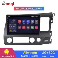 ingrosso honda civic lettore dvd-Lettore multimediale centrale per Android RD Honda Civic 2000-2011 di 2G RAM 32G ROM Android 8.1