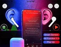 бренды для гарнитур оптовых-1: 1 бренд 2-го поколения H1 Chip App Всплывающее окно анимации Наушники Беспроводная связь Bluetooth Наушники Наушники Гарнитура с функцией датчика