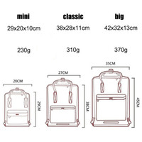 Wholesale high school lights resale online - NEW Swedish fox student waterproof backpack men and women fashion style design bag junior high school canvas backpack brand sports handbag