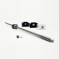 ingrosso macchine per torni cnc-Ballscrew SFU1204 With End lavorata BK / BF10 supporto 12H Dado Bracker C7 Tornio CNC Parts