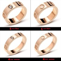 Wholesale great wedding gifts for couples for sale - Group buy With LOGO and Original box screws screwdriver designer rings for mens and women party wedding couple engagement lovers gift luxury jewelry