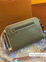 Wholesale camera kit bags resale online - Shoulder Messenger Titanium KIM JONES M43884 Collection Camera Bag x x cm