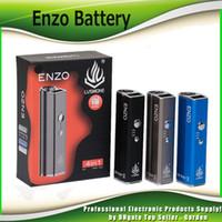 ingrosso vape mod batterie per cera-Scatola originale LVSMOKE ENZO Mod 450mAh Vape batteria a tensione variabile per olio denso Cera Cartucce a secco a secco Serbatoio 100% autentico