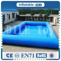 Wholesale water pools for sale resale online - large inflatable swimming water pool for kids commercial grade PVC kids inflatable swimming pool for sale