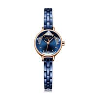 юлиус часовая леди оптовых-Новый Julius Lady женские Часы Маленькие Симпатичные Звезда Cut Мода Часы Ретро Браслет Бизнес Часы Девушка День Рождения Валентина Подарочная Коробка