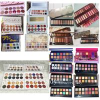 Wholesale black eyeshadow styles for sale - Group buy In stock Makeup Perfect Styles Eyeshadow Pink Yellow Black Green Purple palette Matte Eyeshadow Palette