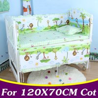 Wholesale baby girl crib bedding sets for sale - Group buy 5PCS set x70cm Infant Baby Bedding Set For Girl Boys Bedding Set Kids Baby Bed Bumper Crib Bumper Cot CP02