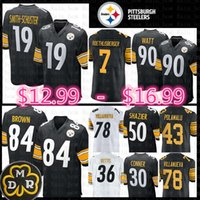 brand new 7cda4 f086e Wholesale Antonio Brown Jersey for Resale - Group Buy Cheap ...