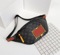 Wholesale fanny packs style resale online - Mens Designer Waist Bag Ladies Luxury Fannypack Designer Handbag For Women Luxury Fashion Circular Fanny Pack new fashion T