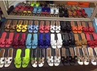 rahat düz bayanlar sandalet toptan satış-Terlik Yeni Fransız Sandalet 2019 Moda Düz dipli Rahat Sandalet Kadın Yaz Bayanlar Sandal Kesip