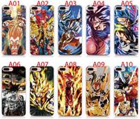 weiche fälle für iphone 5s groihandel-Für iPhone 11 Pro Max X XS XR XS Max 5 5S 6 6S 7 8 Plus Fall weicher TPU Print Muster Dragon Ball Z Qualitäts-Telefonkästen