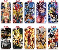 Wholesale iphone case high quality transparent online – custom For iPhone Pro Max X XS XR XS Max S S Plus case Soft TPU Print pattern Dragon Ball Z High quality phone cases