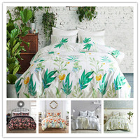Wholesale red flowered comforter covers full for sale - Group buy Flowers series Bedding Set Twin Full Queen Size Comforter Cover Set with pillowcase coloueful beautiful Bedding Cover Suit