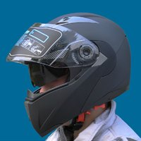 Wholesale flip up visor for sale - Group buy Safe Flip Up Motorcycle Helmets With Inner Sun Visor JIEKAI105 Everybody Affordable Motocross cascos Helmets