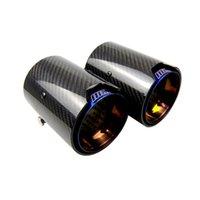 Real Carbon Fiber Blue Exhaust Pipe Muffler tip For BMW M Performance Exhaust M2 F87 M3 F80 M4 F82 F83 M5 F10 M6 F12 F13