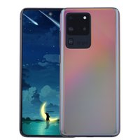 Wholesale cell phones romanian resale online - 3G WCDMA Goophone S20 Ultra V4 GB GB GB Android inch Punch hole In Cell Screen MP Cameras Face ID Fingerprint GPS Smart Phone