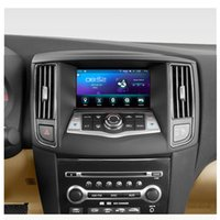 android nissan gps großhandel-Android 6.0 Auto-DVD-Spieler für Nissan Maxima A35 2009 2010 2011 2012 2013 2014 GPS-Navigations-Stereo-BT-AUX 2014